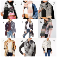 Winter Coats & Blanket Scarves